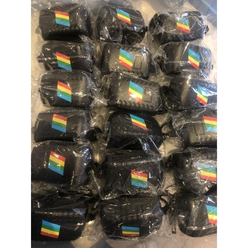 A box of ZX spectrum power supplies